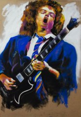 angus young ACDC ( legends of guitar )