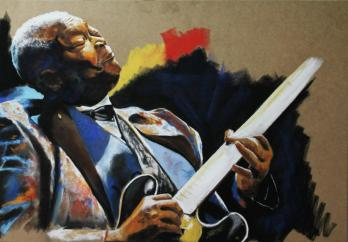 BB KING ( legends of guitar )