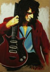 Brian May de QUEEN (legends of guitar )