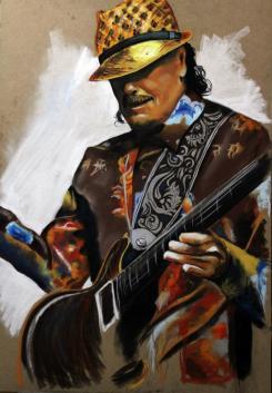 CARLOS SANTANA (legends of guitar)
