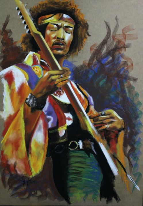 jimi hendrix - coleccion legends of guitar