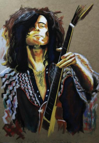 JIMMY PAGE led zeppelin ( legends of guitar )