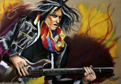 Joe Perry AEROSMITH legends of guitar
