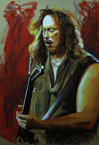 kirk hammett metallica ( legends of guitar )