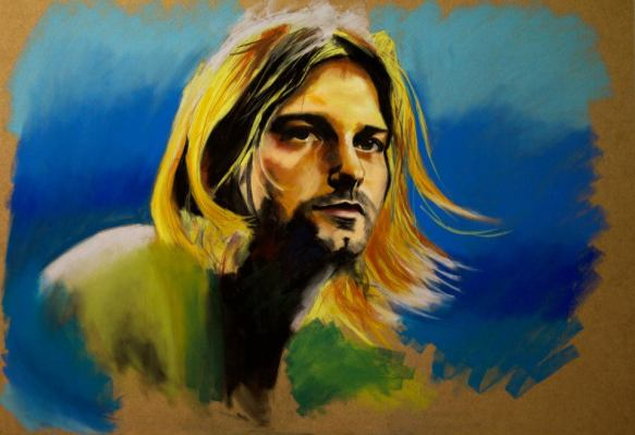 Kurt Cobain NIRVANA legends of guitar