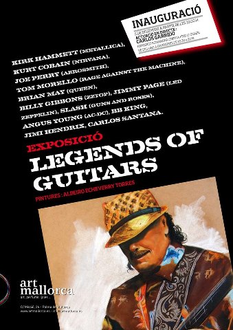 Inauguración   ( legends of guitar )