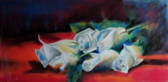 una rosa por cada año feliz